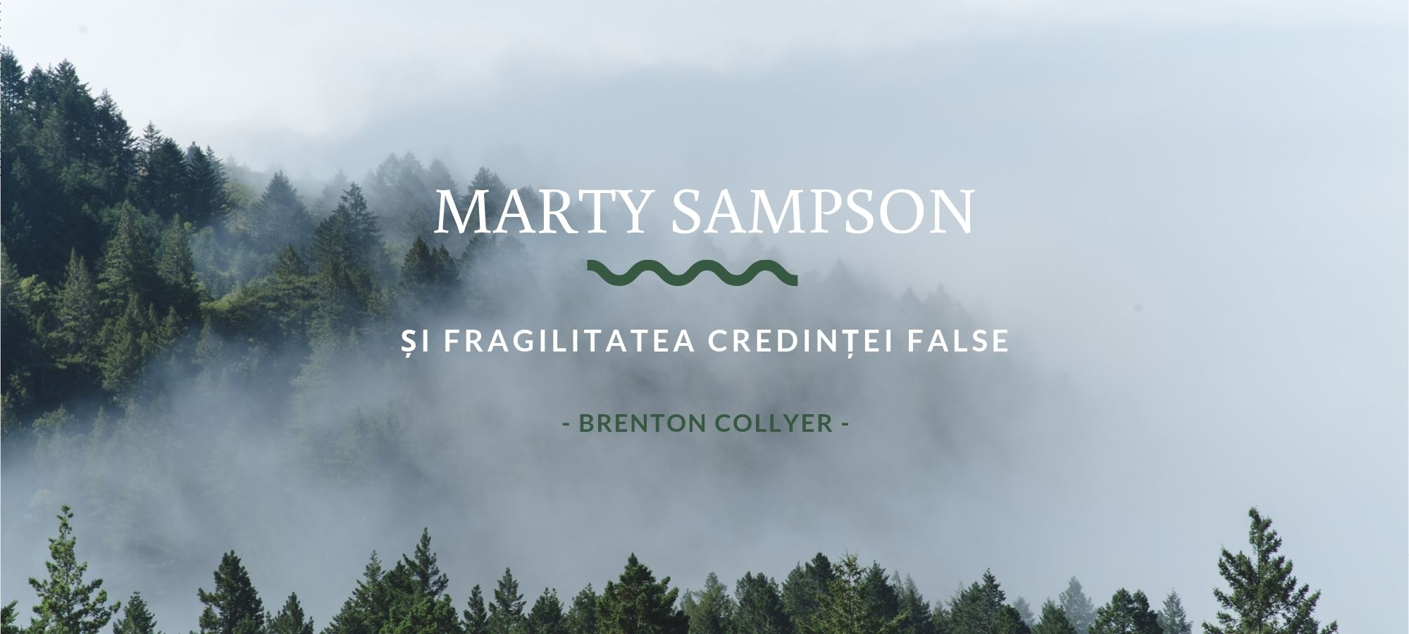 Marty Sampson și fragilitatea credinței false